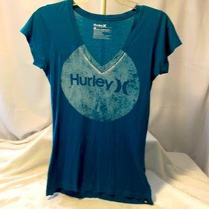 Hurley V-Neck Tissue Tee Sz. Med.